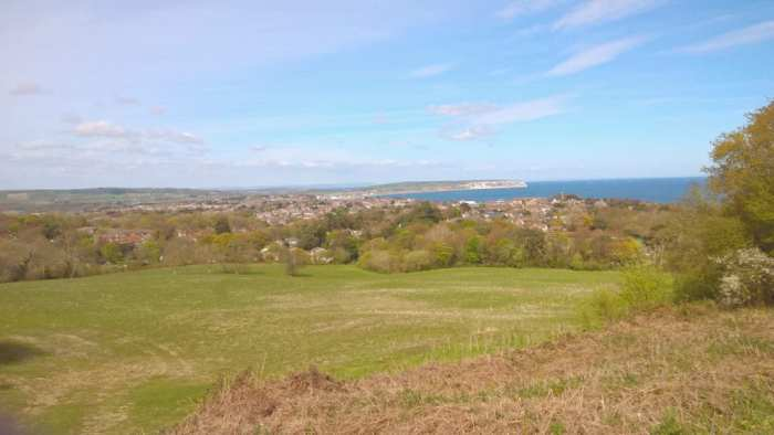 View over Culver Cliff