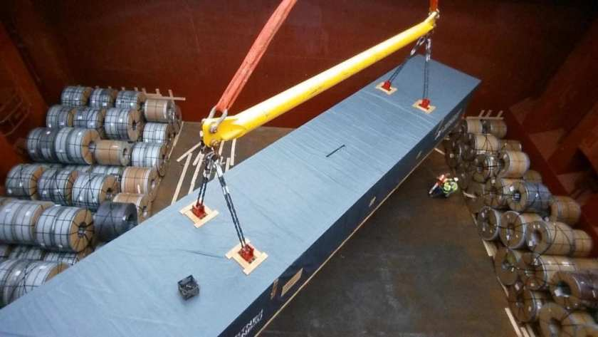 Project Cargo handled by TransOcean Shipping