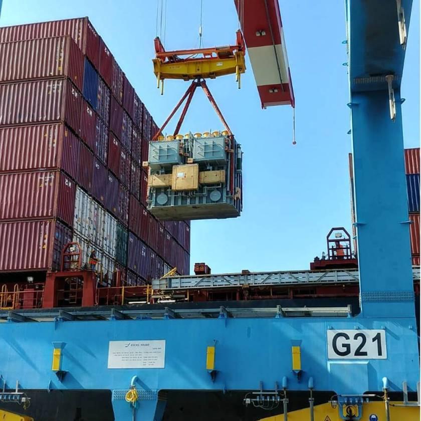 an 86-ton transformer