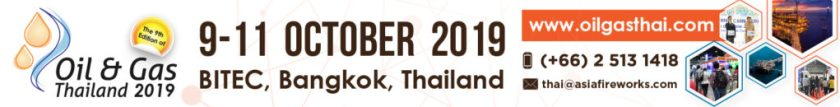 Oil and Gas Thailand 2019, 9-11 October 2019, Bangkok, Thailand