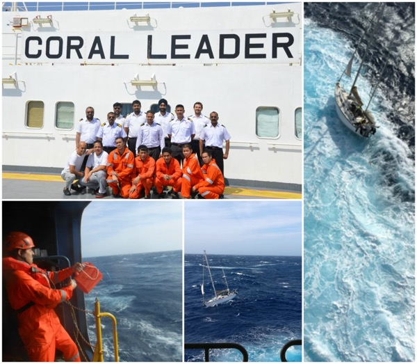 Wallem Ro-Ro Assists with Rescue in the Med