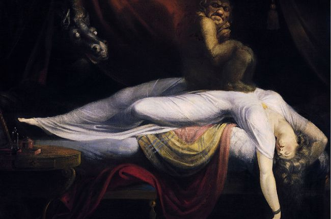 Henry Fuseli, the nightmare, the hag, sleep paralysis, oubliette, project dreamscape