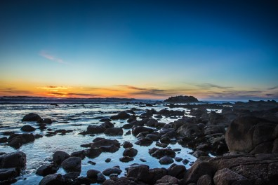 Sunset along the Pacific Coast at Pacific Grove, California Not So SAHM