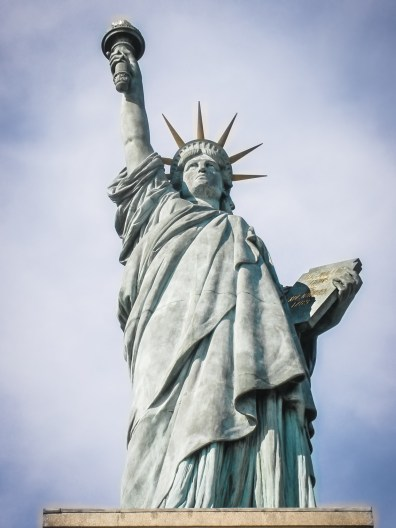 The Statue of Liberty Not So SAHM