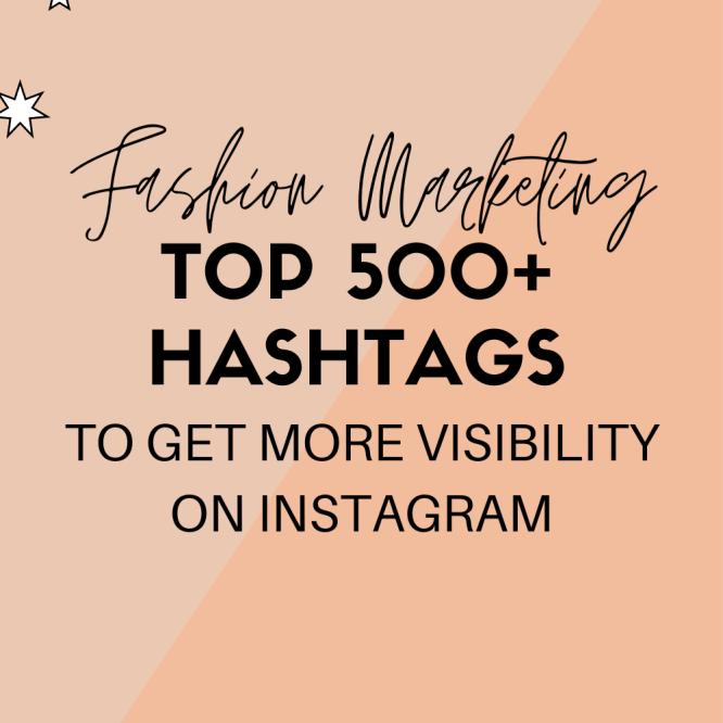 Fashion Hashtags Instagram: Social media marketing for for fashion brands, fashion designers, fashion entrepreneurs, clothing brands. Learn How to promote a clothing brand on social media and How to promote clothing brand on instagram