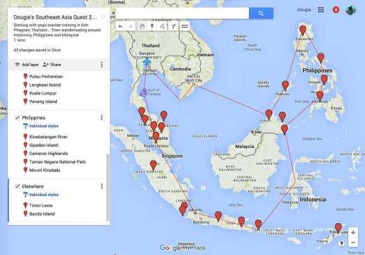 Southeast Asia Trip LARGE