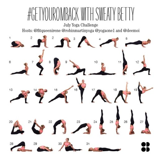 Sweaty Betty #GetYourOmBack July Challenge
