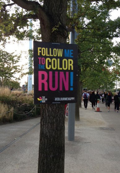 The Night Colour Run, London #Happiest5k