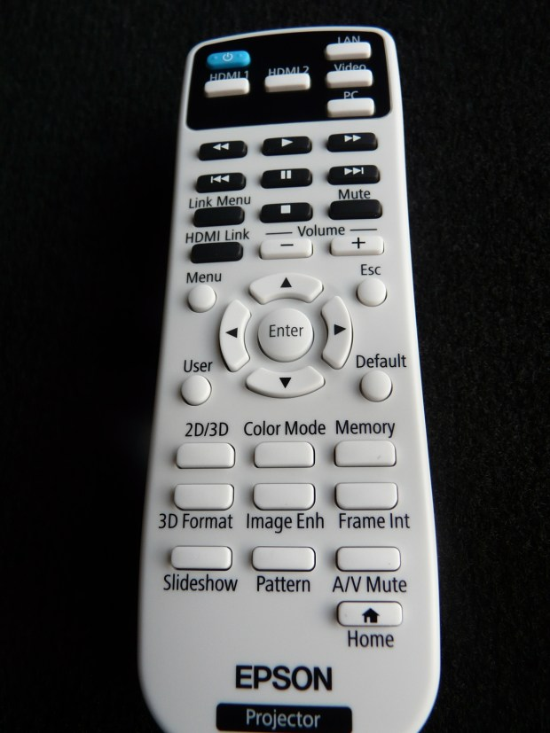 Epson_EH-TW5300 Remote