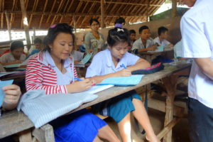 Students at Mae Ra Moe Refugee Camp