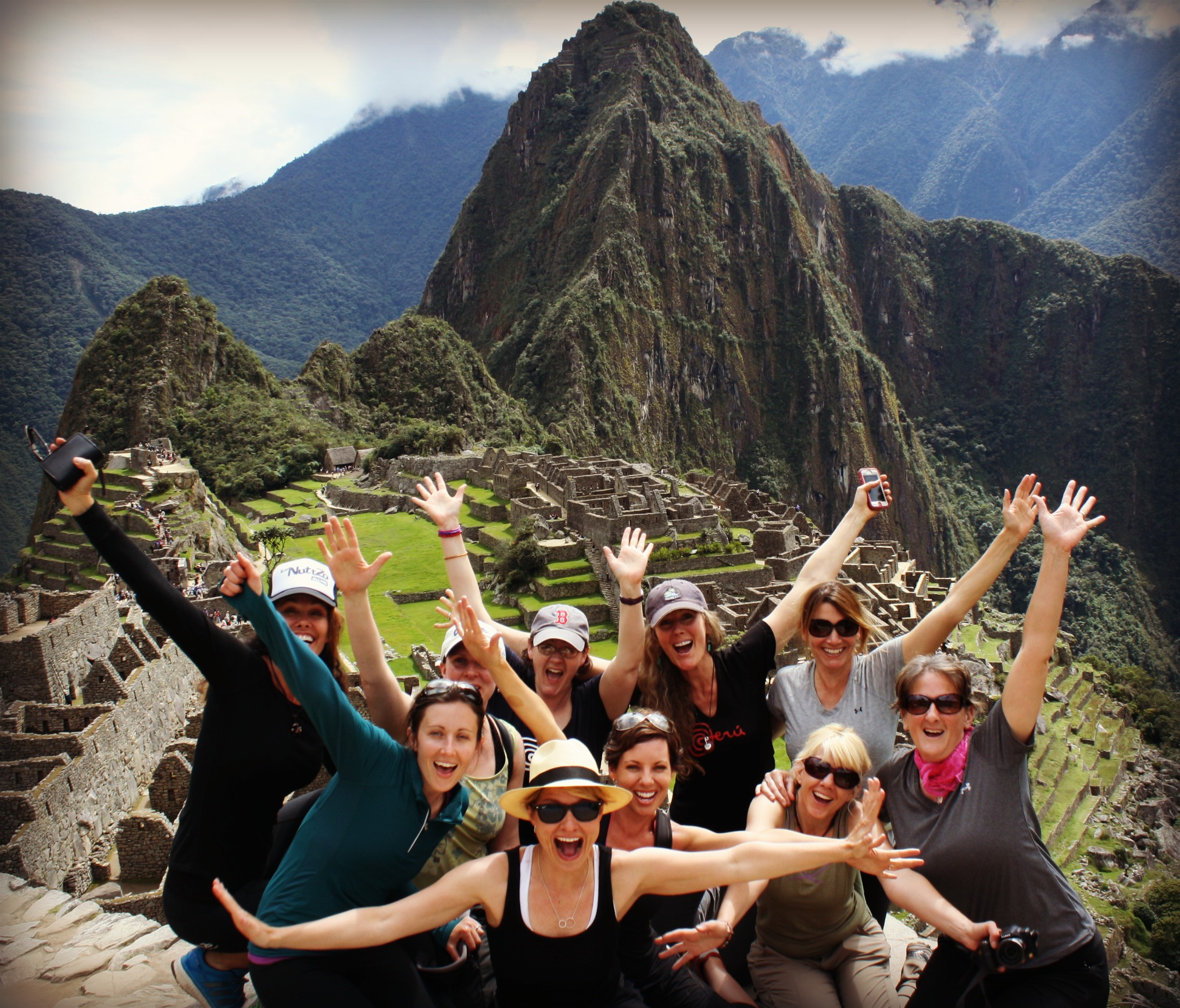 Group Machu Picchu Project Left Behind