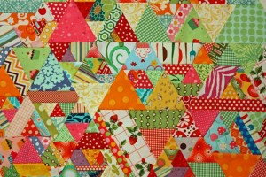 60 degree quilt by Magnolia Bay Quilts