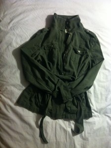 Olive Military Style Anorak-$18, Forever21.
