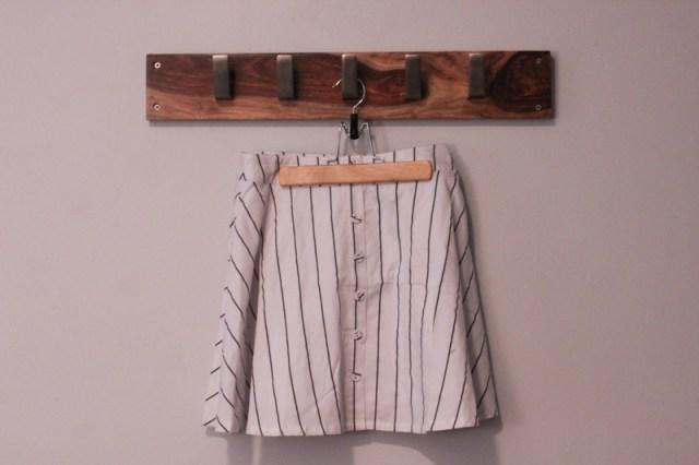 Striped Skater Skirt.