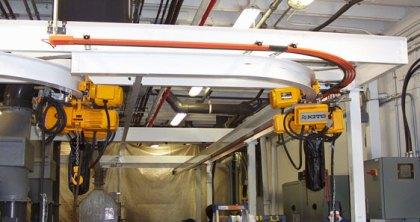 Monorails Crane Anchor & Runway Beams