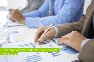 Ways the work effectively