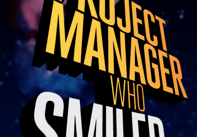 the project manager who smiled book cover image
