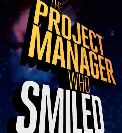 the project manager who smiled book cover