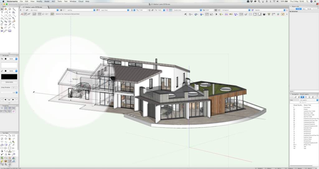 Screenshot Of Vectorworks Architect