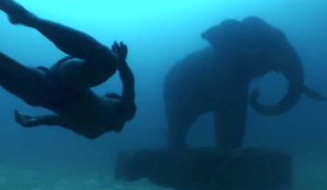 Freediving Sunken City