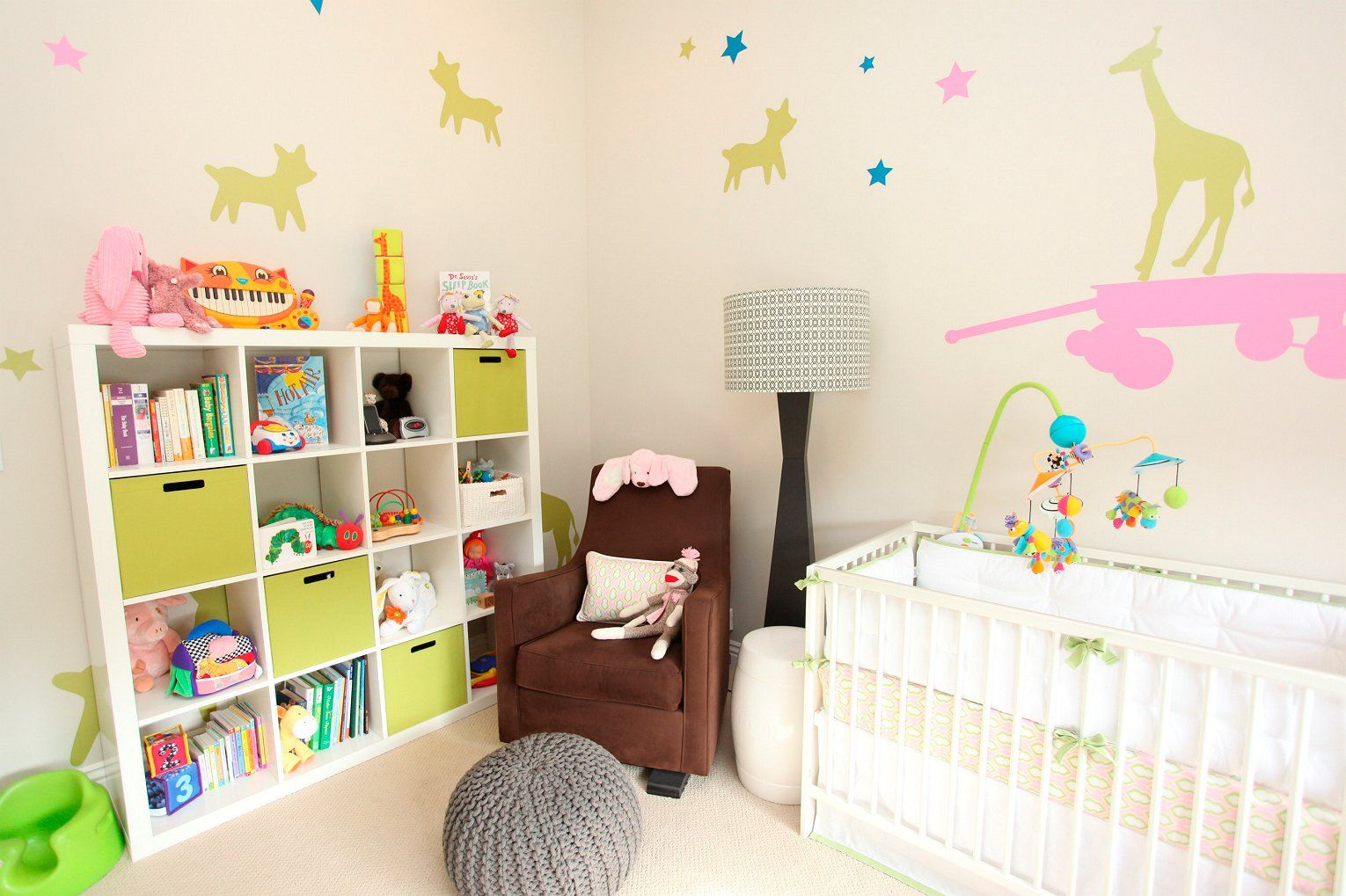 Transitioning A Nursery From Boy To Girl