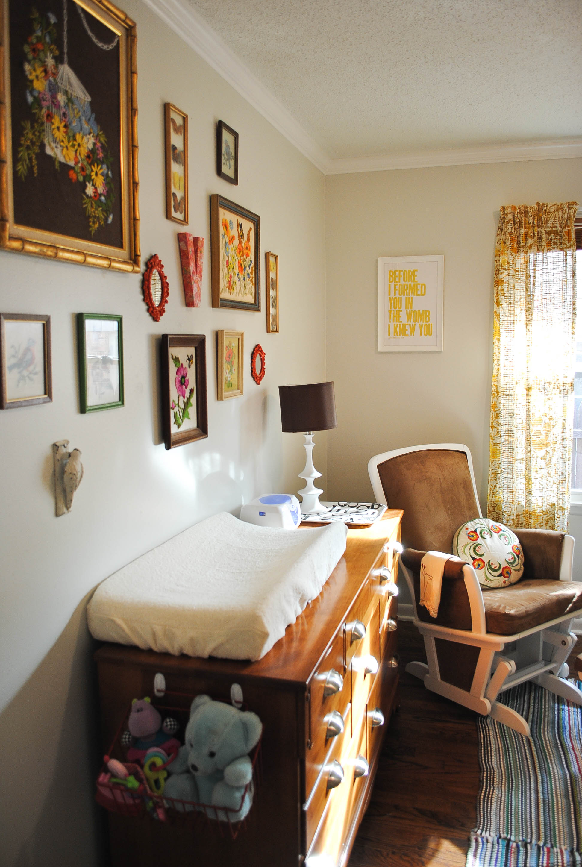 Light And Lovely Vintage Nursery
