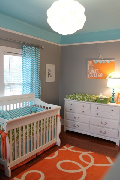 Sparrow by Behr Paint, True Turquoise by Glidden