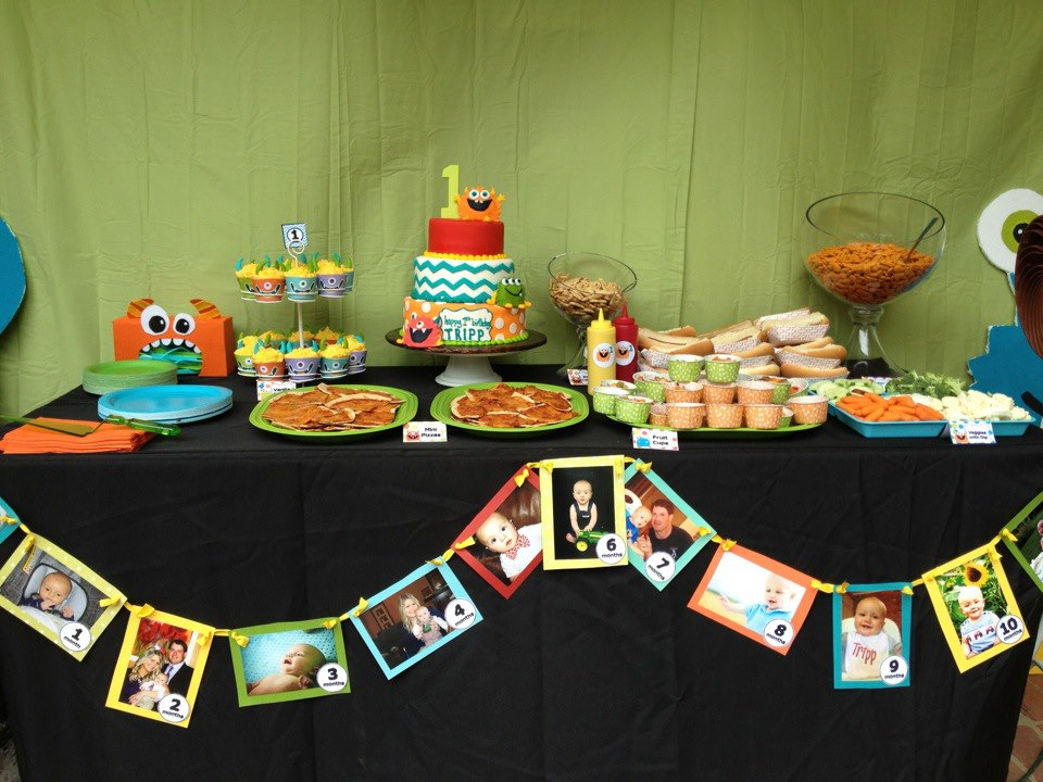 Little Monster 1st Birthday Party Project Nursery