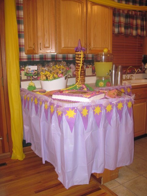 Tangled Birthday Party Project Nursery
