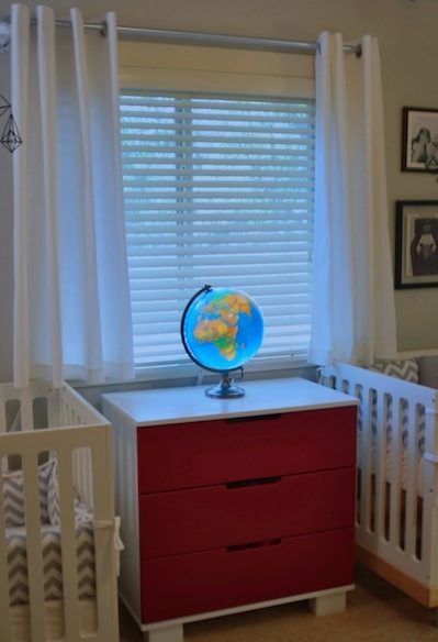 Eclectic Hipster Nursery Project Nursery