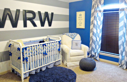 Image Of Por Wooden Letters For Nursery