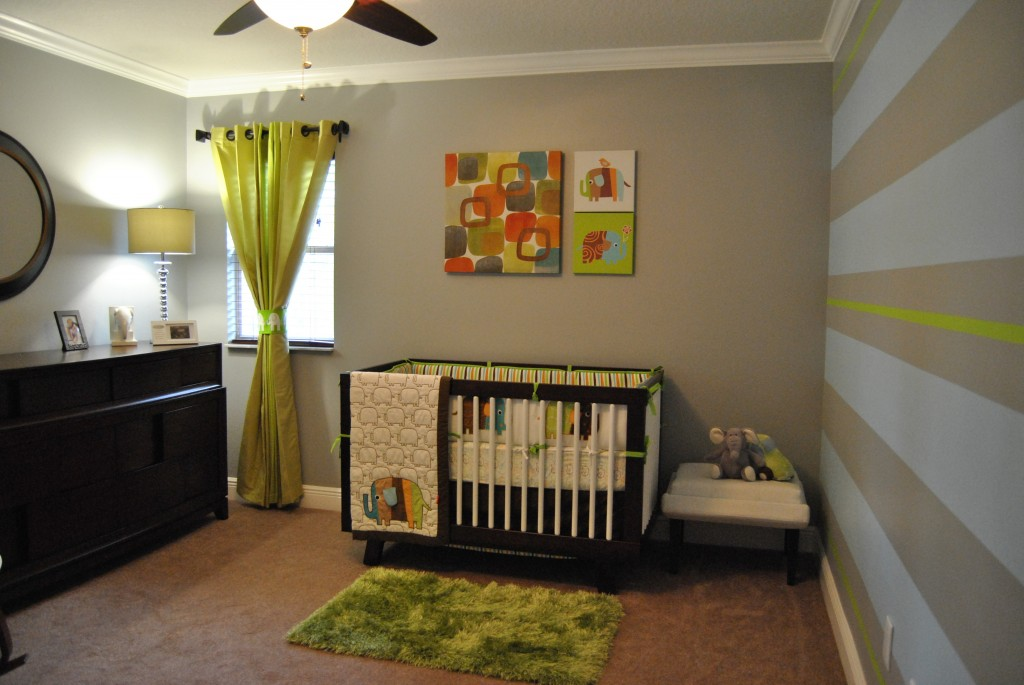 Fun And Modern Baby Boy Nursery