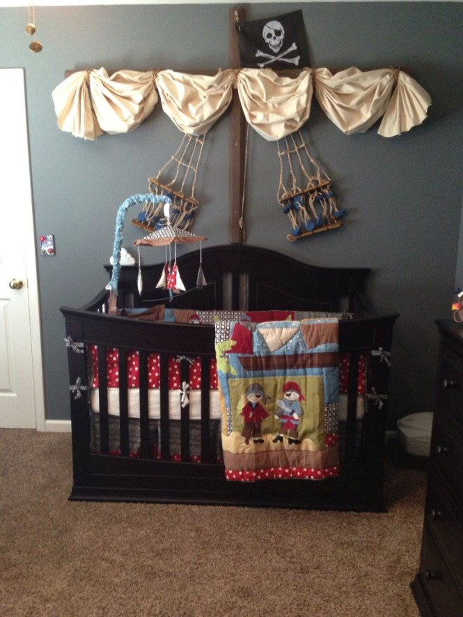 Pirate Nursery Decor