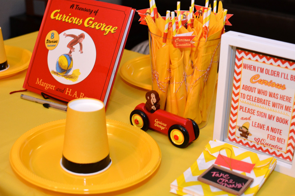 Readers Favorite Curious George Birthday Party Project Nursery