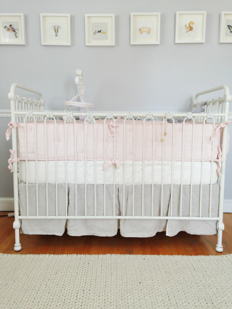 Adele Lous Soft Grey And Pale Pink Nursery Project Nursery