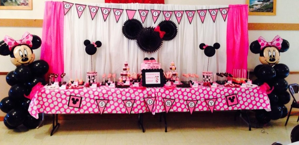 Minnie Mouse 1st Birthday Party Project Nursery