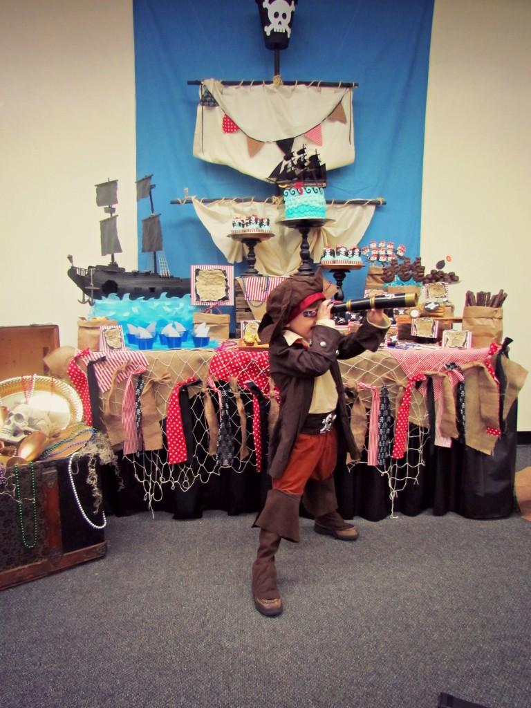 Captain Arron S Pirate Themed Birthday Party Project Nursery