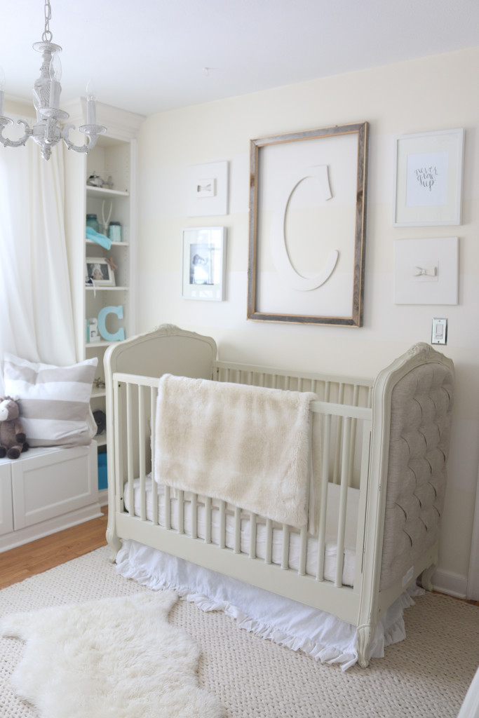 Camdens Cream And White Nursery Project Nursery