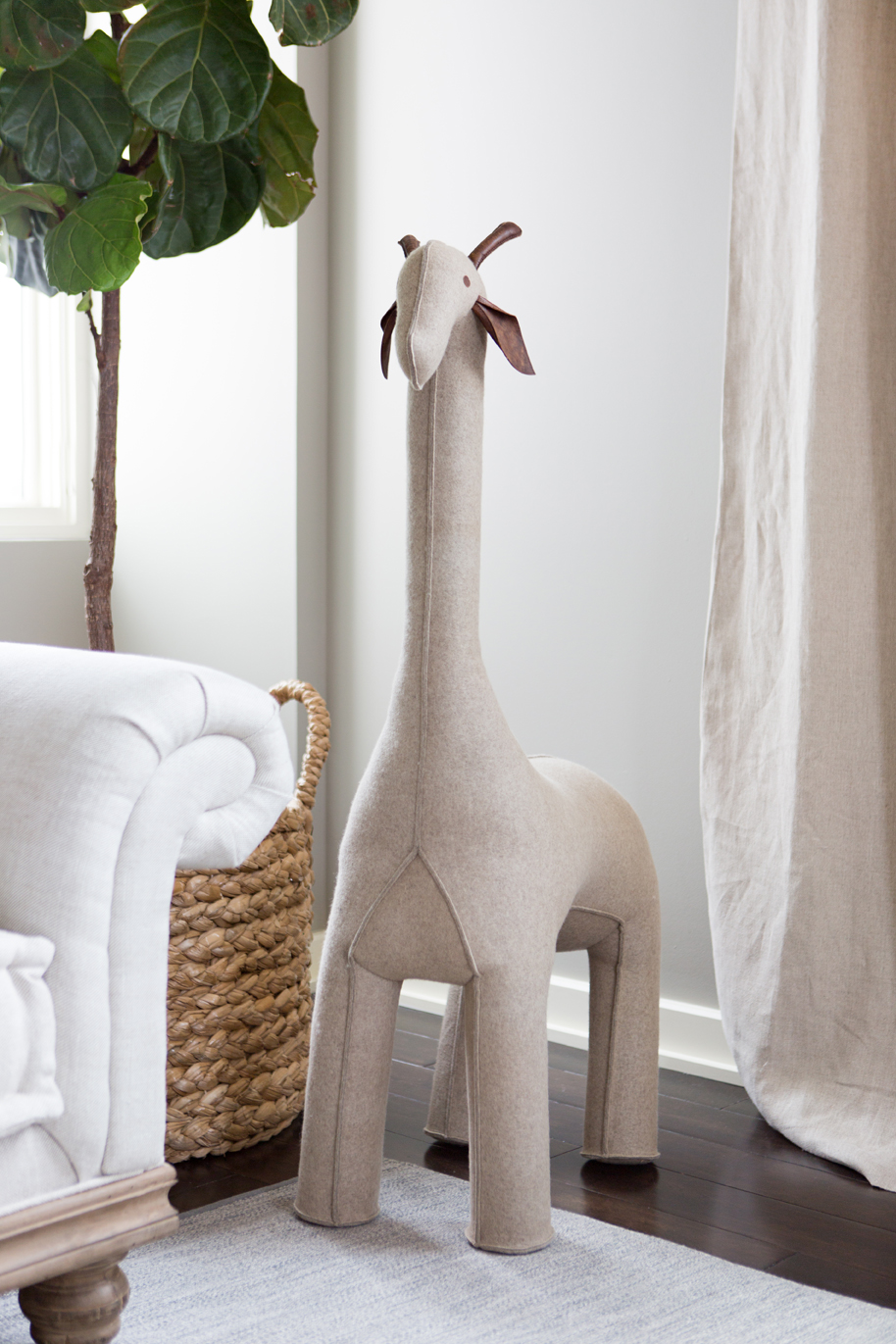 Oversized Wool Felt Giraffe from RH Baby & Child