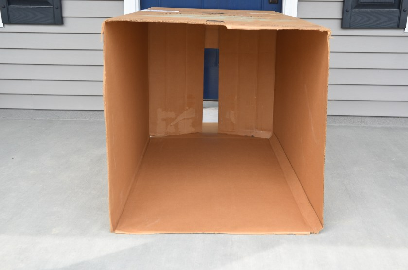 DIY: Cardboard Box Playhouse - Project Nursery