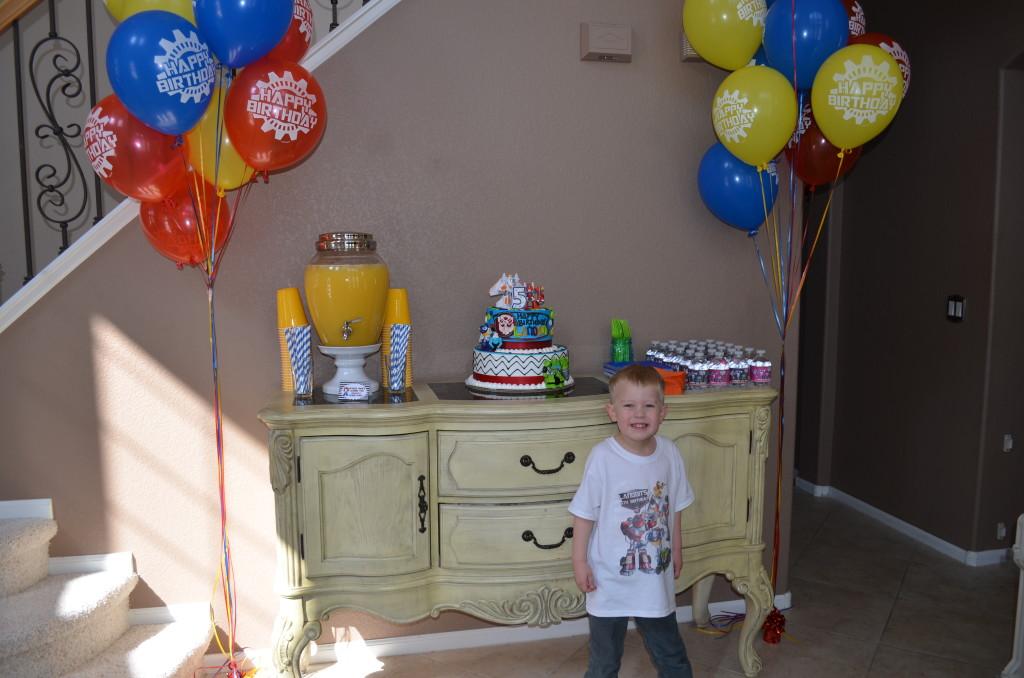 Landon S Rescue Bots 5th Birthday Project Nursery