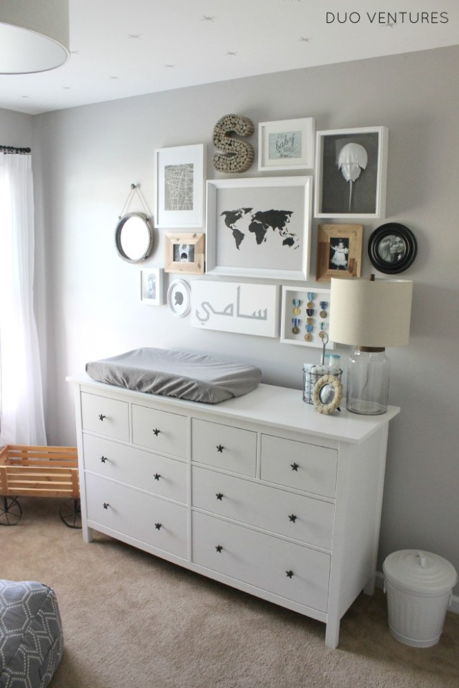 Gray Color For Baby Room Decorating White Pink And Nursery Decor