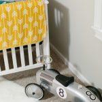 Clean Simple Vintage Race Car Nursery Project Nursery