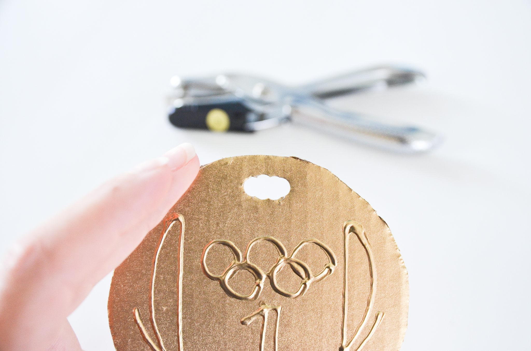 Diy Olympic Medals For Kids