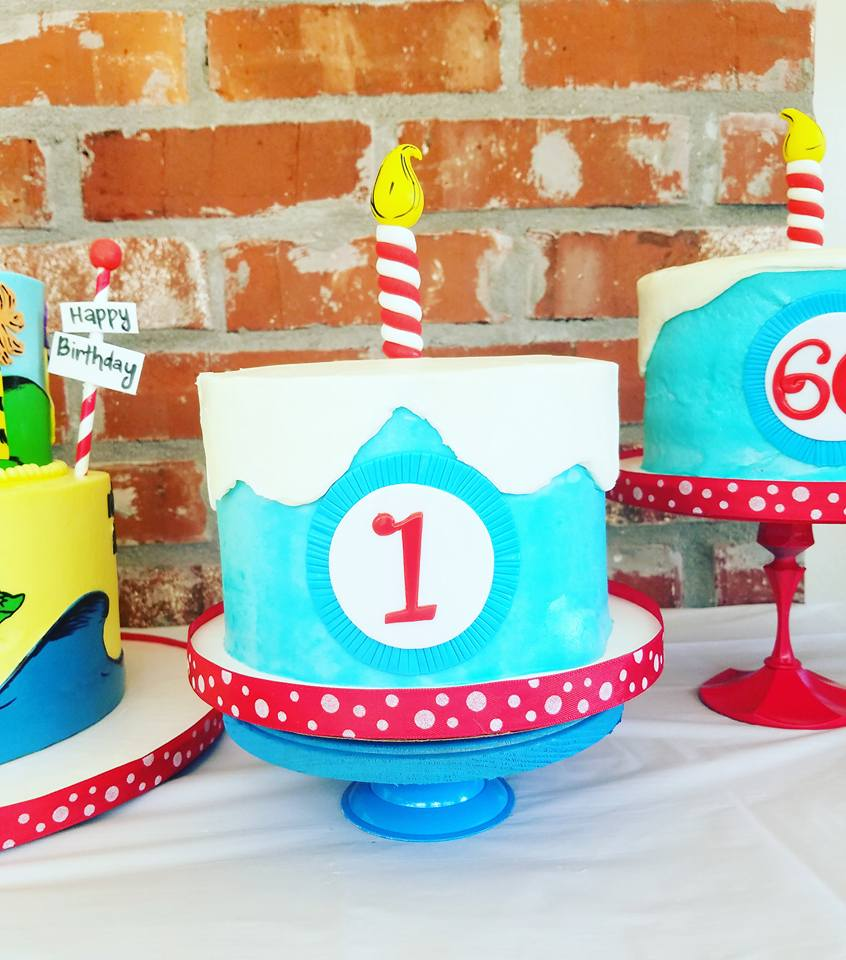 Diy Dr Seuss 1st Birthday Party Project Nursery