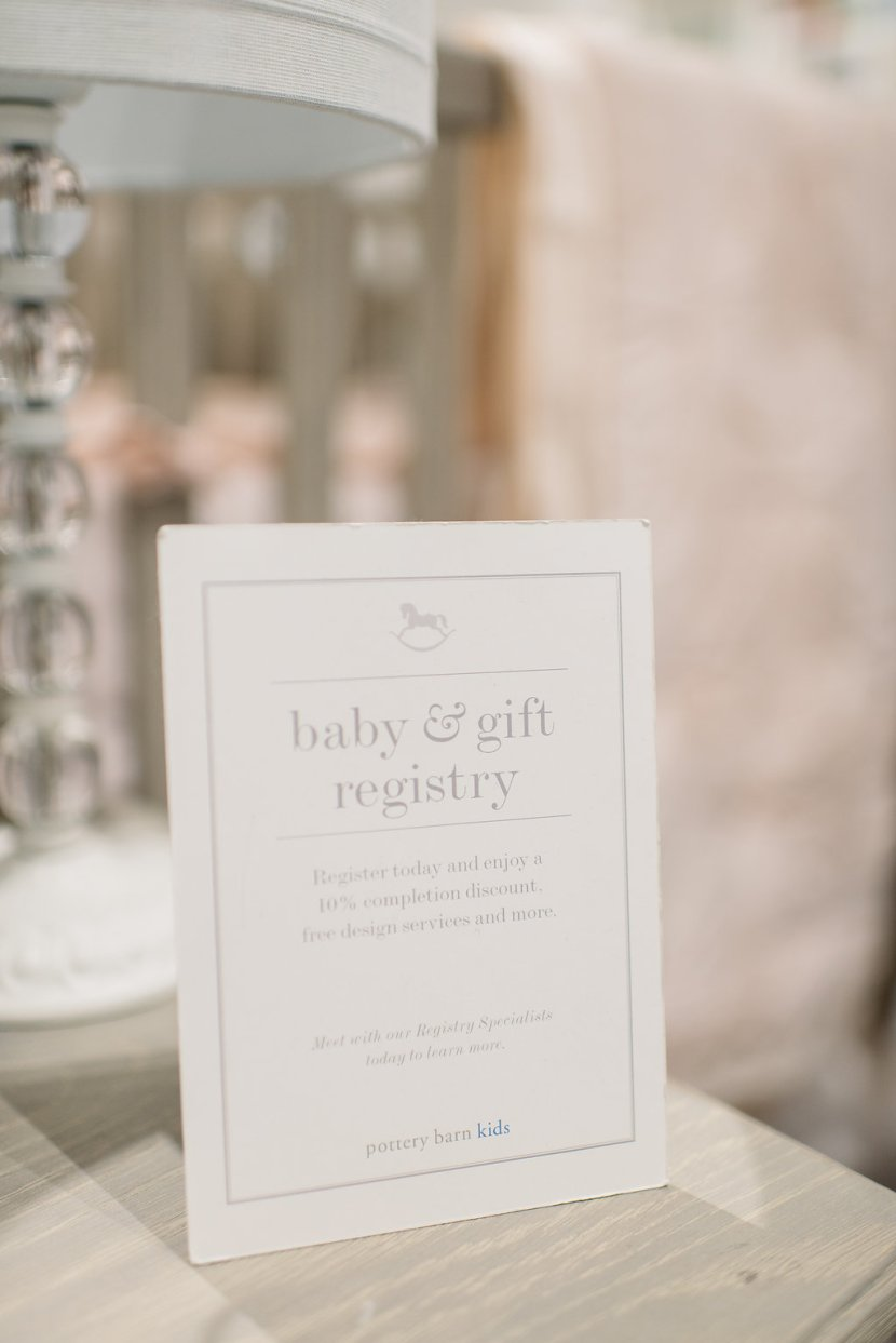 Registry Completion Discount from Pottery Barn Kids