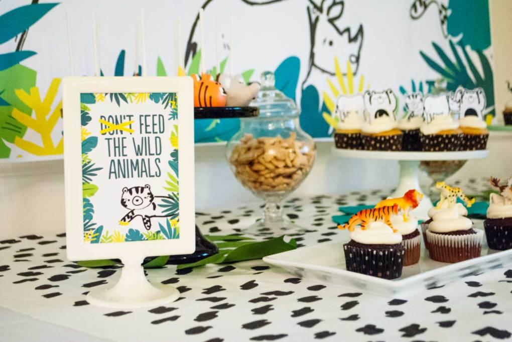 Wild Animal Kids Birthday Party