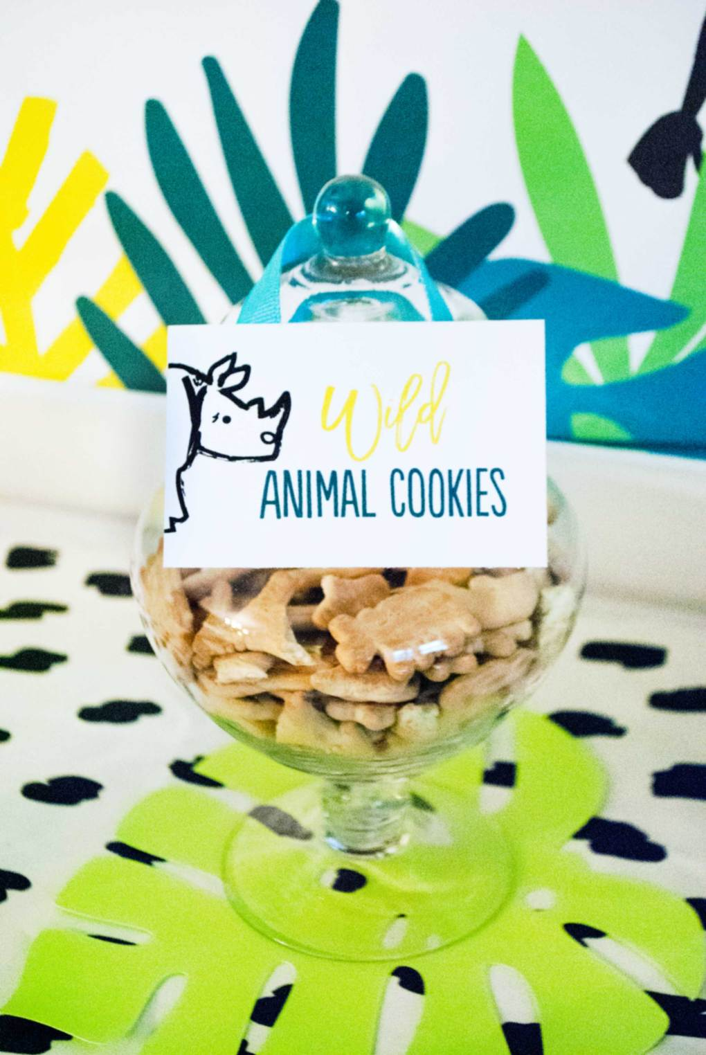 Wild Animal Birthday Party Snacks