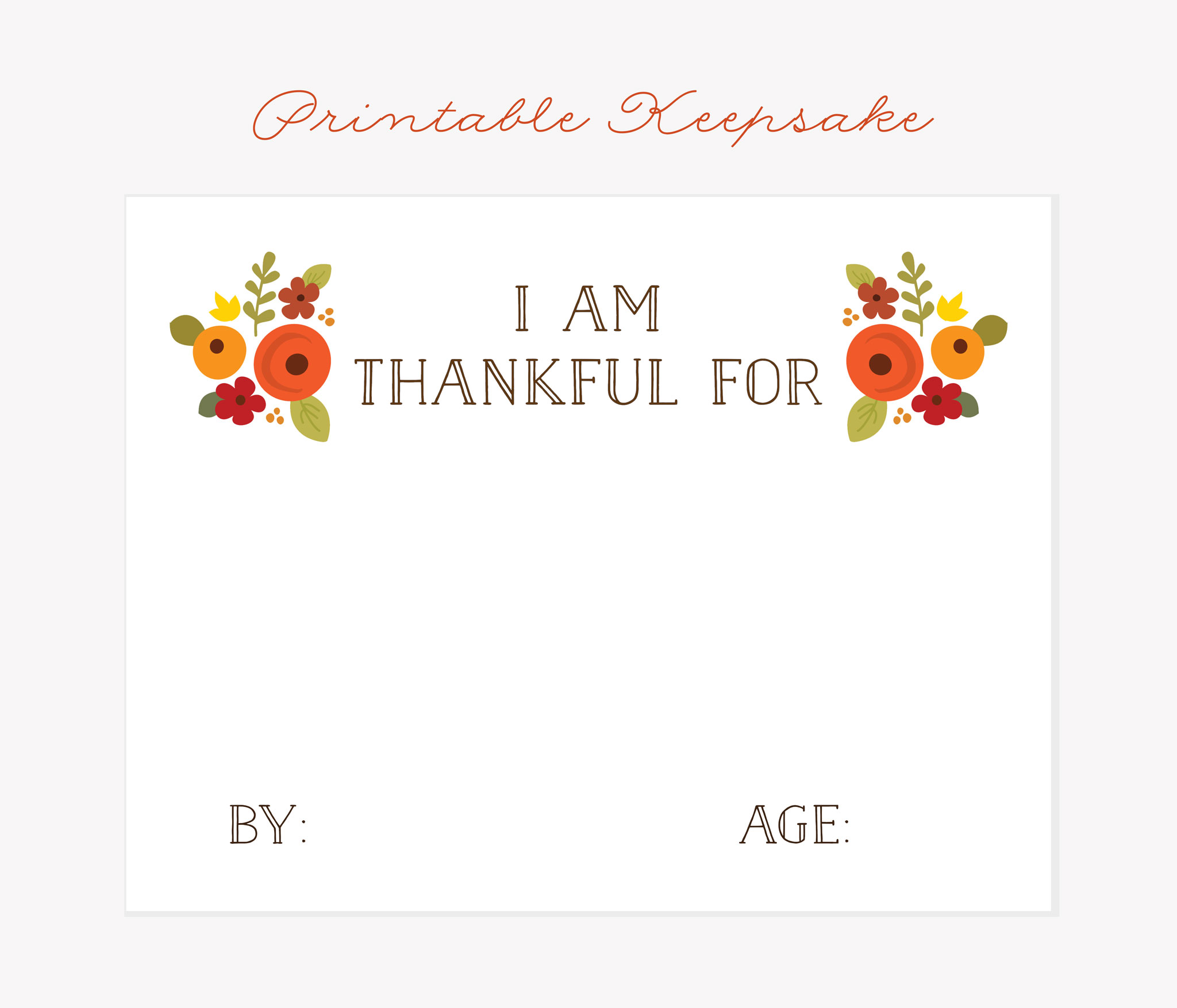 From Sweet To Humorous Find Out What Your Kids Are Thankful For
