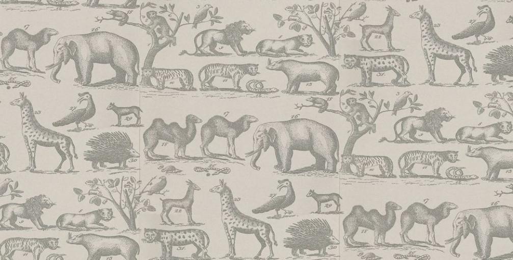 Andrew Martin Nursery Safari Wallpaper | Little Crown Interiors